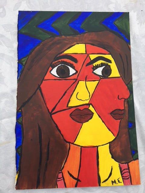 Picasso Selbstporträt