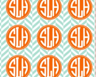 Monogrammed Wrapping Paper