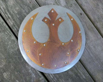 Star Wars Rebels Copper and Aluminum Wall Hanging