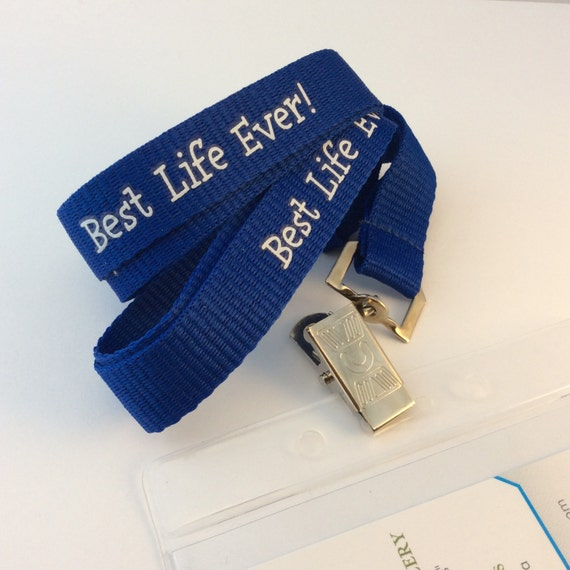 JW Best Life Ever Lanyard, Convention gift or accessory