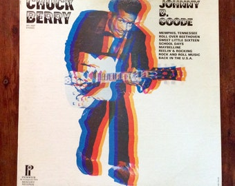 Vintage Mint Condition Johnny B. Goode Chuck Berry