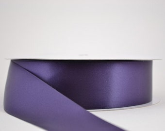 Lapis Ribbon, double faced satin ribbon,  5/8 inch width Wedding Ribbon,  Cake Ribbon, Dress Ribbon, Lapis Satin Ribbon,  Scrapbook Ribbon