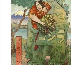 Kaiju Actor- 11 x 14 Signed Print