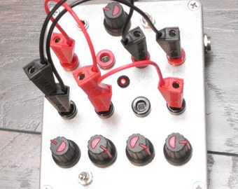 Modulation Cluster Fu(K // 4 Oscillator Noise Synth  with CV in and Modulation Patch Bay / electro lobotomy ( pre order )