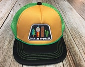 "Toddler Trucker Hat with ""Hello World"" Patch-..."