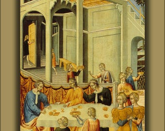 Poster, Many Sizes Available; Giovanni Di Paolo Salome Asking Herod For The Head Of Saint John The Baptist