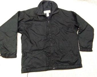 vintage COLUMBIA JACKET SWEATSHIRT black colour size L