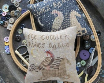 The Gobbler : Cross Stitch Pattern by Heartstring Samplery