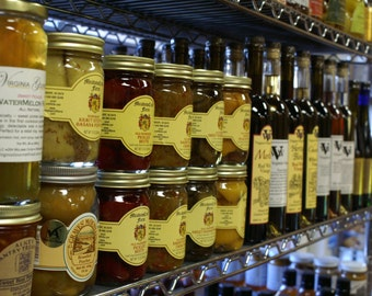 Pickled Fruits Vegetables Virginia Wine Vinegars