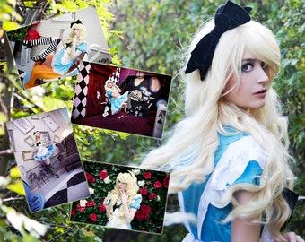 Alice in Wonderland Cosplay Print Package 1