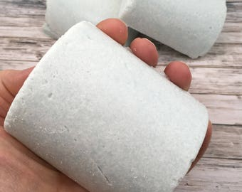 Salt Bar Soap   Homemade Soap   Handmade Cold Process Soap from Scratch   One Soap in Ocean Mist Scent   Gift for Her   Gift for Him