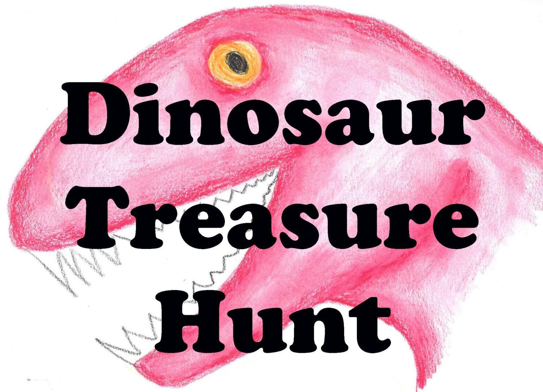 Dinosaur Hunt Kids Scavenger Hunt Dino Search Game
