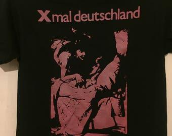 Xmal Deutschland Shirt Punk Goth 80s