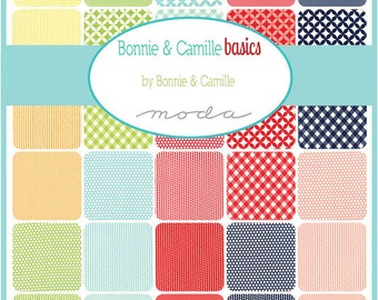 Bonnie & Camille Basics Jelly Roll for Moda - M55023JR Precut quilting fabric, free postage in Australia - sewing, quilts,handmade