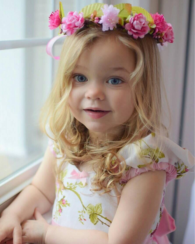 Girls Floral Hair Wreathstorybook Flower Crowntoddler Hair
