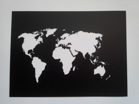 World map stencil plastic reusable painting art supply wall world map stencil plastic reusable painting art supply wall art custom size from yarmart on etsy studio gumiabroncs Image collections
