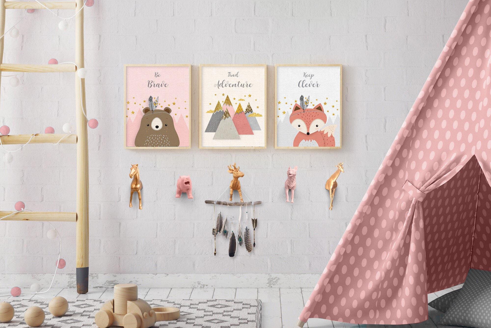 Wandhaken Kinderzimmer   Wandhaken Mantel 4 1 Haken Garderobe Tier Haken