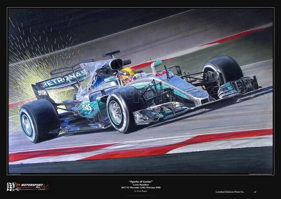 Auto Garage For Sale Hamilton: Lewis Hamilton Sparks Of Genius F1 Mercedes AMG