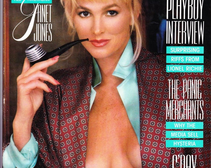 Vintage Playboy Magazine March 1987 With Janet Jones
