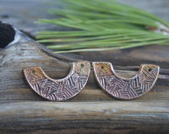 Handmade Bronze Egyptian Collar Components