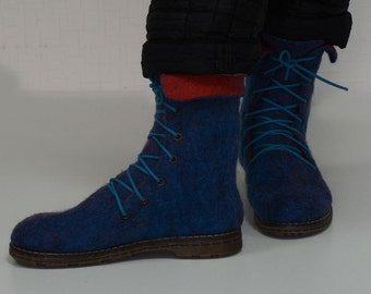 "felted boots for women ""East"""