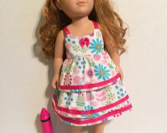 Doll skirt and top