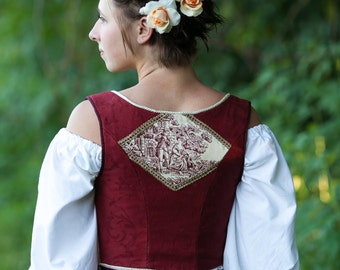 The Antoinette Bodice (Made to Order)
