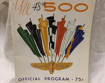 Indianapolis 500 Official Program 1964