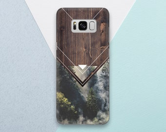 Wood Phone case for Samsung Galaxy s9 case Galaxy s9 plus case Forest Galaxy s8 case Galaxy s8 plus Wood Galaxy s7 case Galaxy note 8 OC_284