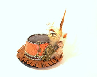 Mini Steampunk Top Hat By ShapeShifters