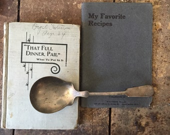 Antique Cookbooks 1900