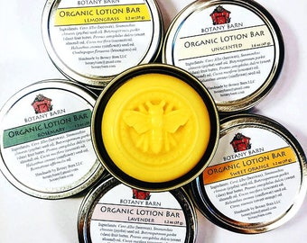 Lotion Bar, Organic Lotion Bar, Solid Lotion, Shea Butter, Moisturizer, Body Lotion, Organic Jojoba, Organic Moisturizer, Shea Butter Lotion