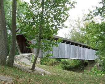 """From the """"Appalachian Scenic"""" Series.  Covered Bridge"""