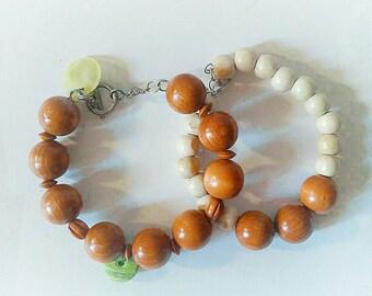Boho wooden bracelet set, boho bracelet set, hippie bracelet set, boho bangles, hippie, boho wooden  bangles set, hippie wooden bangles set