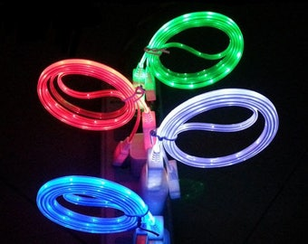 Electroluminescent Charging Cable