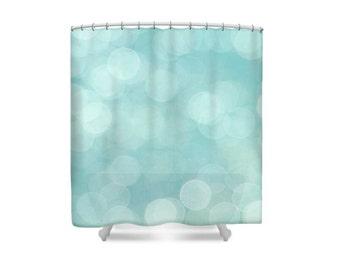 Bathroom Decor, Modern Decor, Aqua Shower Curtain,Turquoise Bathroom,Blue Bathroom Decor,Blue Shower Curtain,Turquoise Bathroom,Pastel Decor