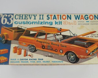 AMT 63 Station Wagon Model