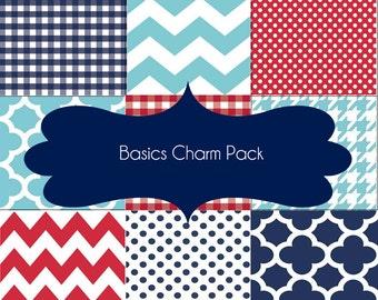 Basics Charm Pack - Riley Blake Designs - BASICCP