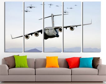Military Aircraft Aircraft photo Aircraft Wall art Aircraft Canvas Aircraft print Aircraft poster Aircraft decor Military Aircraft art