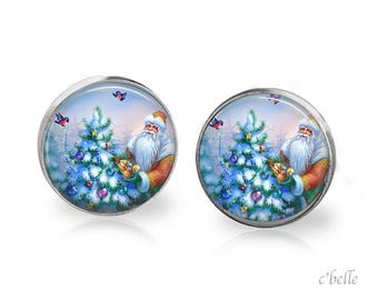 Christmas Earrings Winter-71