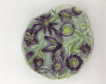 Flower Soap Dish / Spoon Rest