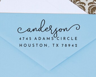 Custom Address Stamp, Self Ink Return Address Stamp, Personalized Address Stamp, Self Ink Custom Address Stamp, Custom Stamper