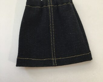 "14.5"" Doll Clothes - Denim Skirt - To fit Wellie Wishers and Hearts for Hearts dolls"