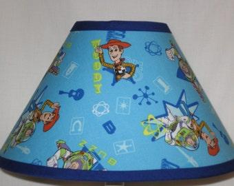 Disney Toy Story Fabric Childrens Lamp Shade/Childrenu0027s Gift