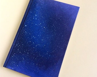 Handpainted Galaxy Journal