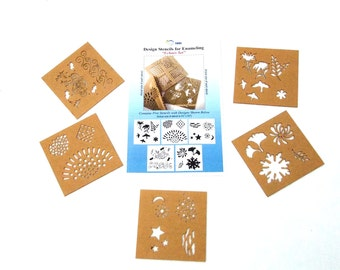 Design Stencils By Eurotool (Echoes)  Great For Enameling