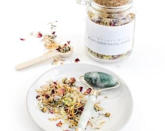 Wildflower Facial Steam | 8oz | Organic + Vegan | FREE SHIPPING