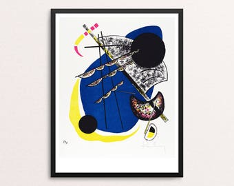 Small Worlds II (Kleine Welten |I) by Vasily Kandinsky | Abstract modern art | Fine art print | Bauhaus | Modernist art