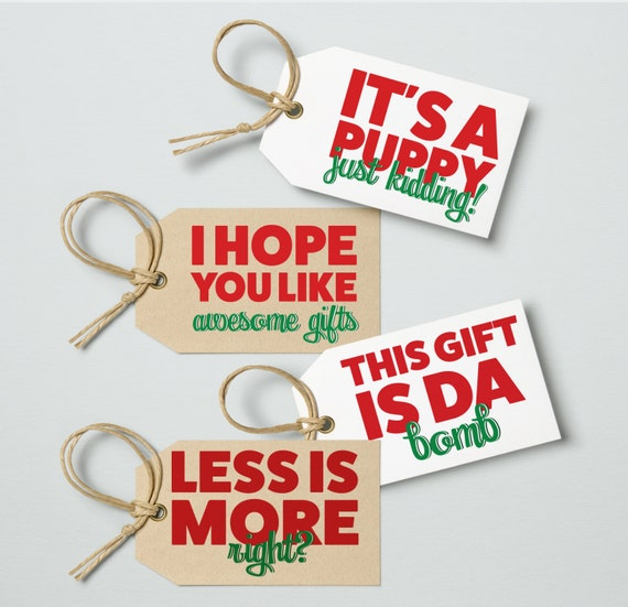 Funny christmas gift tags digital download printable joke gift funny christmas gift tags digital download printable joke gift tags from rachelhaleydesign on etsy studio negle Choice Image