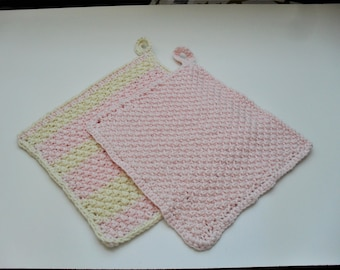 Wash cloths set of 2 be boiled cotton
